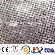 Wholesale Embroidery and Sequin Organza Fabric Mesh Sequin Fabric
